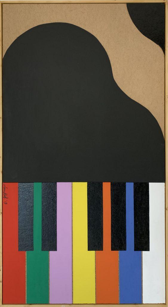 Piano: Il primo premio di Anna - cm 174,5x96