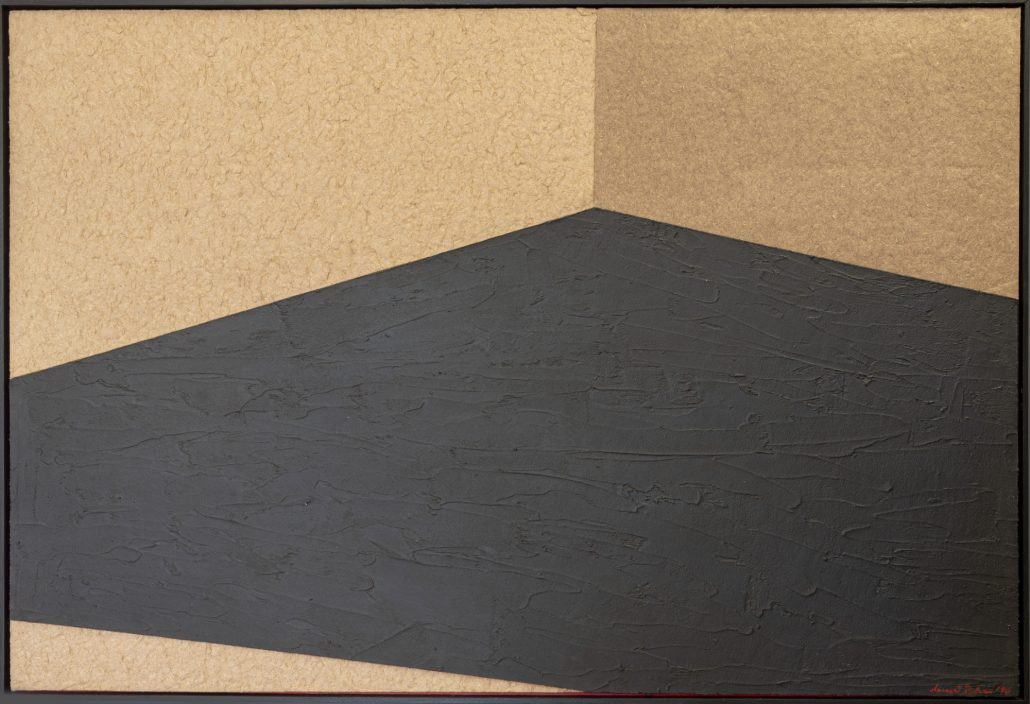 Studio sulla prospettiva - Palazzo dei Priori di Perugia - cm 110,5x163,5