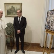 Chagall comes back for Francis Pope